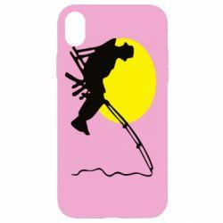 Чехол для iPhone XR Рыбак