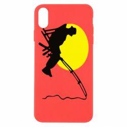 Чехол для iPhone Xs Max Рыбак