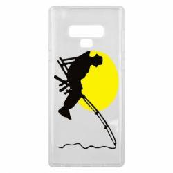 Чехол для Samsung Note 9 Рыбак