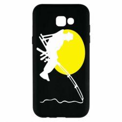 Чехол для Samsung A7 2017 Рыбак