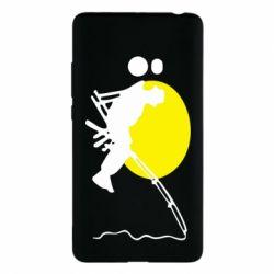 Чехол для Xiaomi Mi Note 2 Рыбак