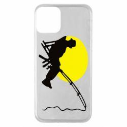 Чехол для iPhone 11 Рыбак
