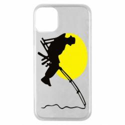 Чехол для iPhone 11 Pro Рыбак