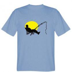 Мужская футболка Рыбак - FatLine