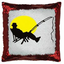 Подушка-хамелеон Рыбак