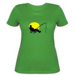 Жіноча футболка Рибак - FatLine