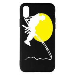 Чехол для iPhone X/Xs Рыбак