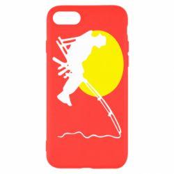 Чехол для iPhone 7 Рыбак