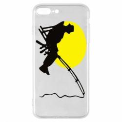Чехол для iPhone 7 Plus Рыбак - FatLine