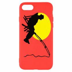 Чехол для iPhone 8 Рыбак - FatLine