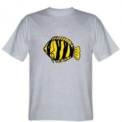 Мужская футболка рибка - FatLine