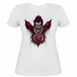 Женская футболка Ryuk the god of death