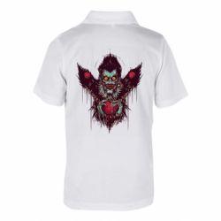 Детская футболка поло Ryuk the god of death