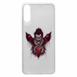 Чехол для Samsung A70 Ryuk the god of death