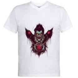 Чоловіча футболка з V-подібним вирізом Ryuk the god of death