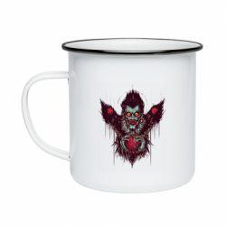Кружка эмалированная Ryuk the god of death