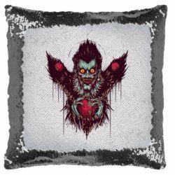 Подушка-хамелеон Ryuk the god of death