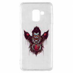 Чехол для Samsung A8 2018 Ryuk the god of death