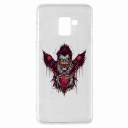 Чехол для Samsung A8+ 2018 Ryuk the god of death
