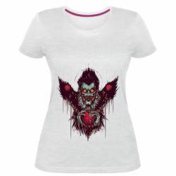 Женская стрейчевая футболка Ryuk the god of death