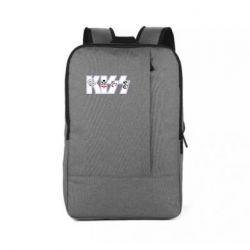 Рюкзак для ноутбука Kiss the music band