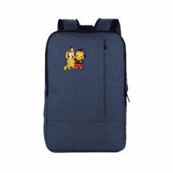 Рюкзак для ноутбука Mickey and Pikachu