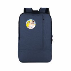 Рюкзак для ноутбука Пара козак і козачка.