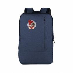 Рюкзак для ноутбука Pug And Coffee