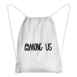 Рюкзак-мішок Among Us Logo