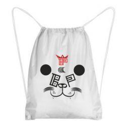 Рюкзак-мешок BEAR PANDA BP VERSION 2