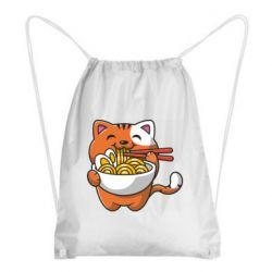Рюкзак-мішок Cat and Ramen