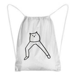 Рюкзак-мішок Cat in pants
