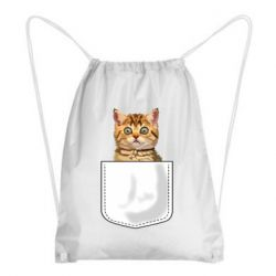 Рюкзак-мешок Cat in your pocket