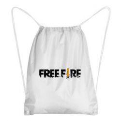Рюкзак-мешок Free Fire spray