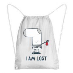 Рюкзак-мішок I am lost