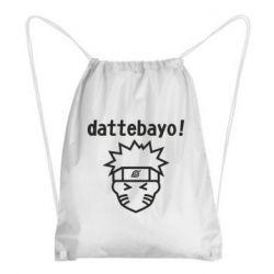 Рюкзак-мішок Naruto dattebayo!