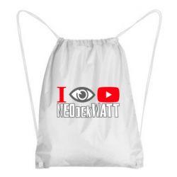 Рюкзак-мішок I Watch NEOdekWATT