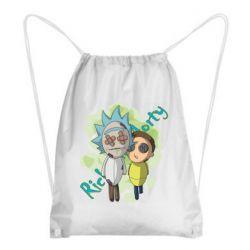 Рюкзак-мішок Rick and Morty voodoo doll