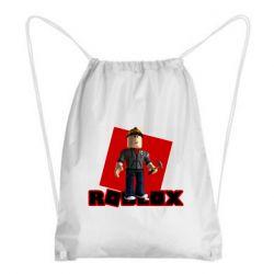 Рюкзак-мешок Roblox Builderman