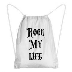 Рюкзак-мешок Rock my life