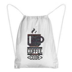 Рюкзак-мішок Сoffee code