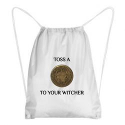 Рюкзак-мішок Toss a coin to your witcher ( орен )