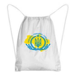 Рюкзак-мішок Україна Мапа
