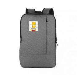 Рюкзак для ноутбука Барт в тюряге - FatLine