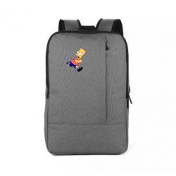 Рюкзак для ноутбука Беги, Барт, беги! - FatLine