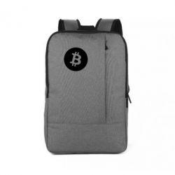 Рюкзак для ноутбука Біткоин лого