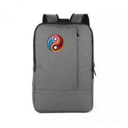 Рюкзак для ноутбука Captain America & Iron Man - FatLine