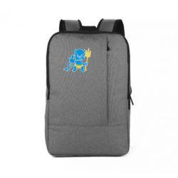 Рюкзак для ноутбука Чертик з трезубом - FatLine