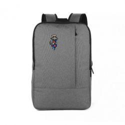 Рюкзак для ноутбука Енот Ракета и Грут - FatLine
