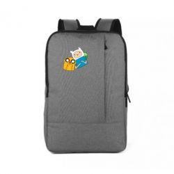 Рюкзак для ноутбука Фин и Джейк - FatLine